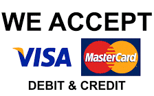 Chesterfield Carpet Cleaning Pro accept payments by credit and debit card